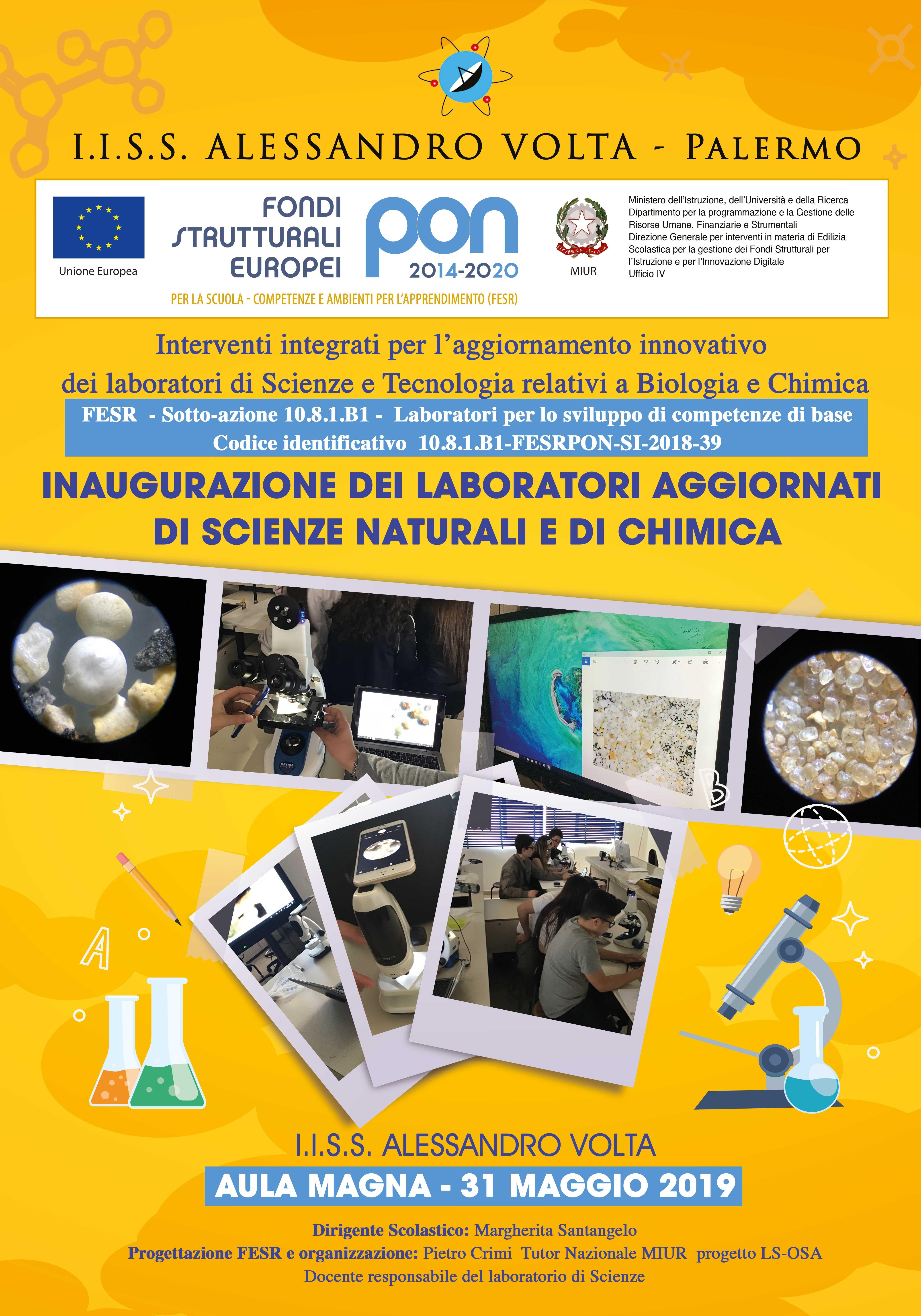 Inaugurazione laboratori
